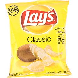 Lays Classic Potato Chips 1oz