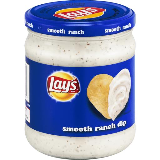 Lays Dip, Smooth Ranch
