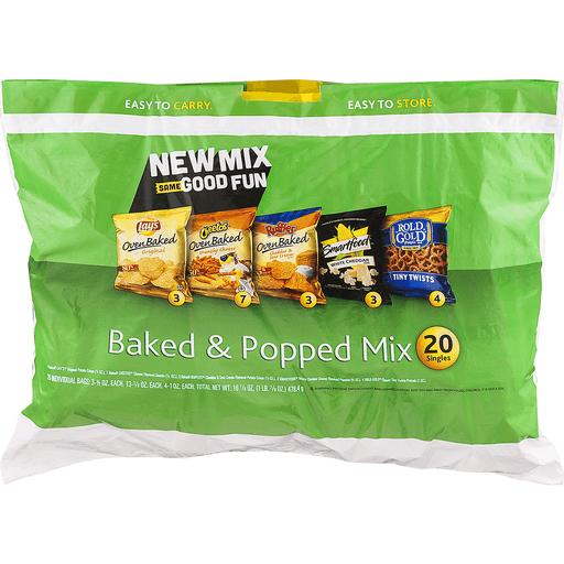 Frito-Lay 2 Go Baked & Popped Mix - 20 CT