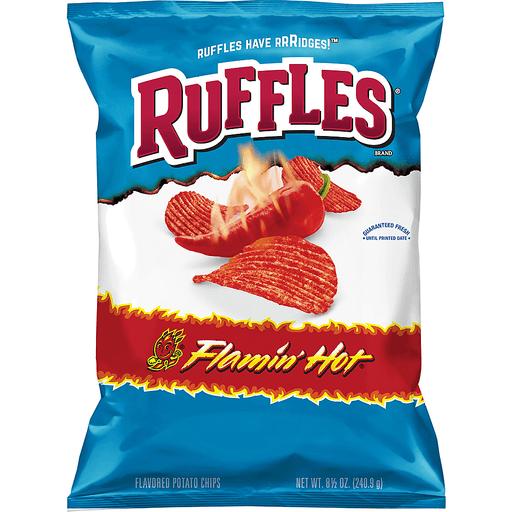 Ruffles Potato Chips Flamin' Hot