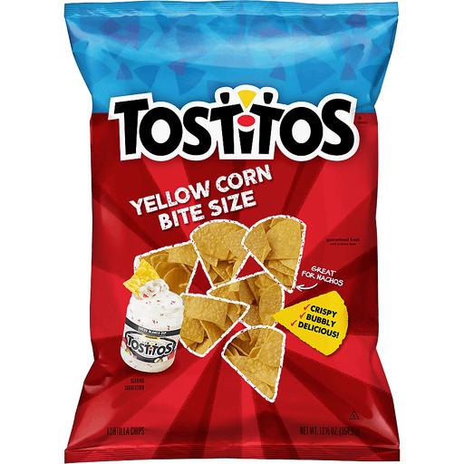 Tostitos® Yellow Corn Bite Size Tortilla Chips 12.5 oz. Bag
