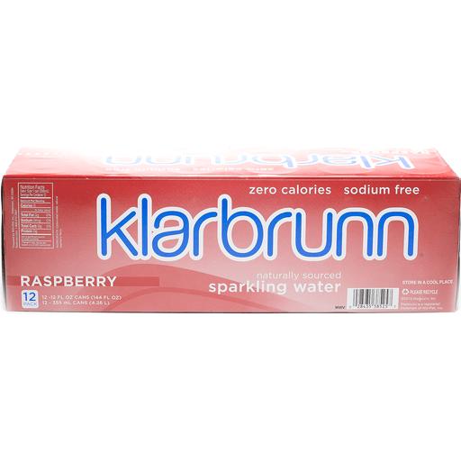 Klarbrunn Sparkling Water Raspberry