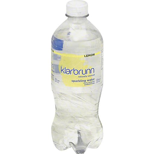 Klarbrunn Sparkling Water, Lemon