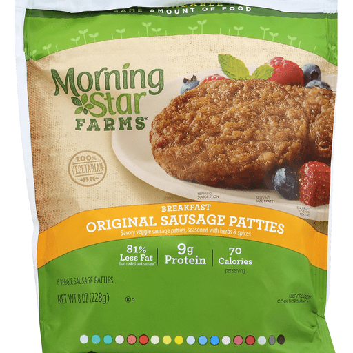 Farms Breakfast Veggie Sausage Patties