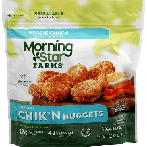 Morning Star Farms Classics Chik N Nuggets Vegan Vegetarian Martin S Super Markets
