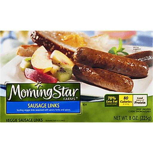 MorningStar Farms Breakfast Sausage Links, Veggie