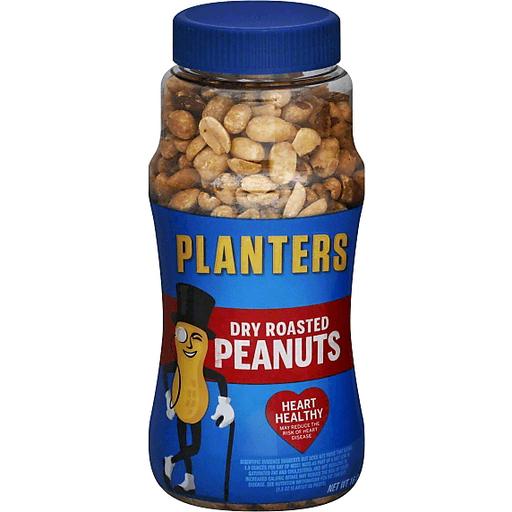 Planters Dry Roasted Peanuts, Original