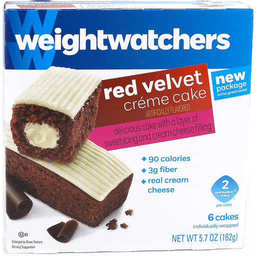 Outstanding Weight Watchers Creme Cake Red Velvet Pies Desserts The Markets Personalised Birthday Cards Paralily Jamesorg