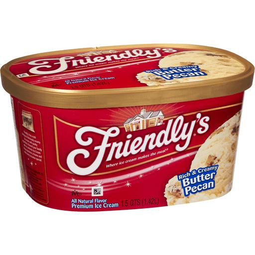 Friendly's Premium Ice Cream Butter Pecan