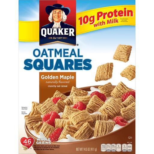 Quaker® Golden Maple Oatmeal Squares 14.5 oz. Box