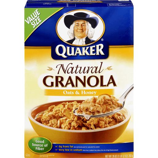 Quaker Simply Granola Oats, Honey & Almonds