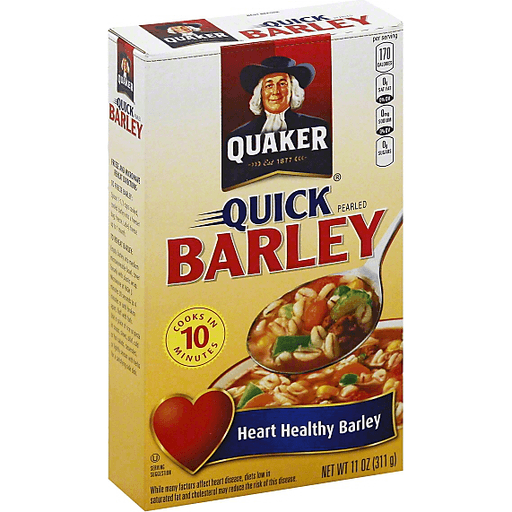 Quaker® Quick Pearled Barley 11 oz. Box