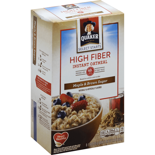 Quaker Select Starts Instant Oatmeal