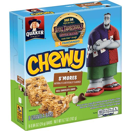 Quaker Chewy Granola Bars S'Mores - 8