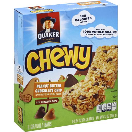 Quaker Chewy Granola Bars Peanut Butter