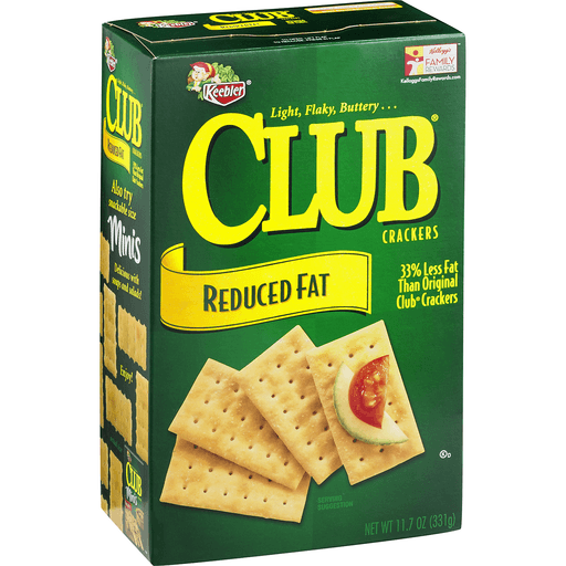 Club Crackers, Reduced Fat