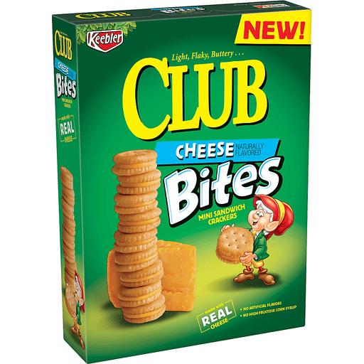 Club Sandwich Crackers, Mini, Bites, Cheese