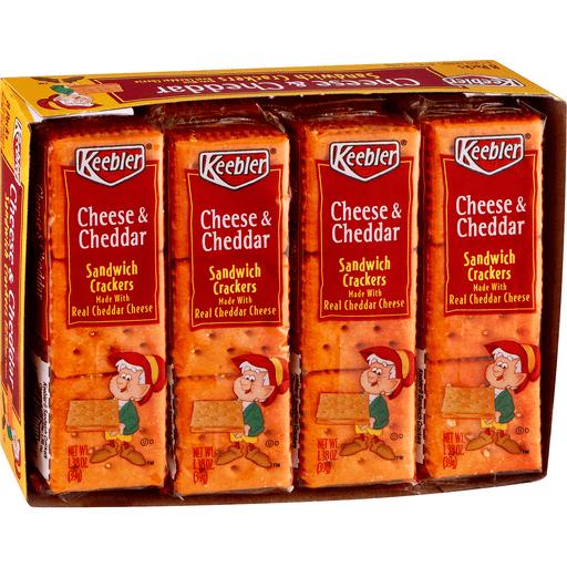 Keebler Sandwich Crackers, Cheese & Cheddar