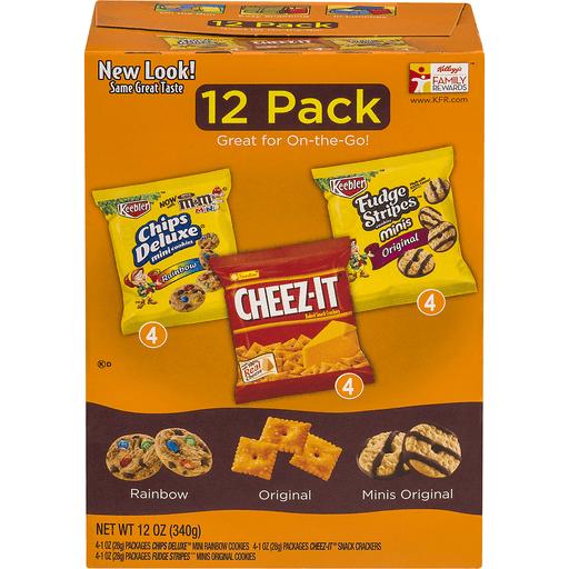 Kelloggs Variety Pack, 12 Pack