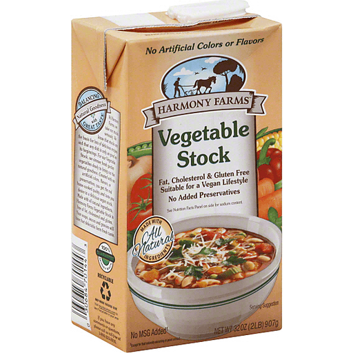 Harmony Farms Vegetable Stock