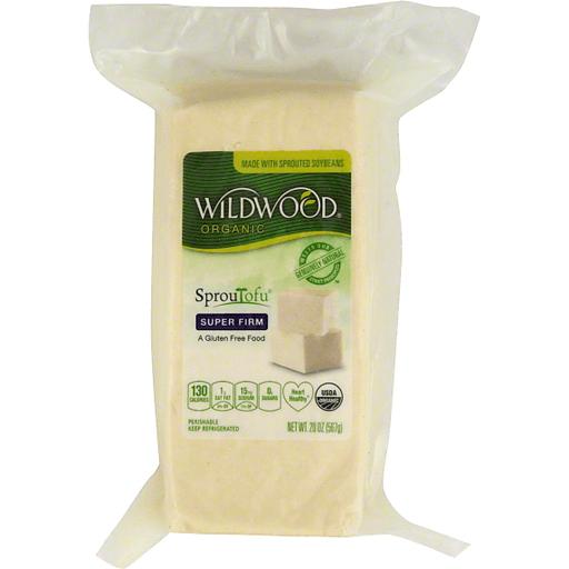 Wildwood Sproutofu Tofu, Organic, Super Firm