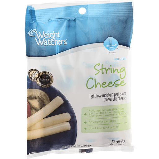 Ww String Cheese Part Skim Mozzarella Light Low Moisture String Curds Snack Cheeses D Agostino