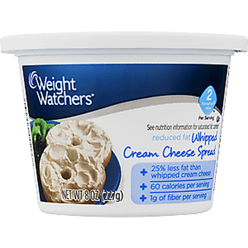 Weight Watchers Whipped Cream Cheese Spread