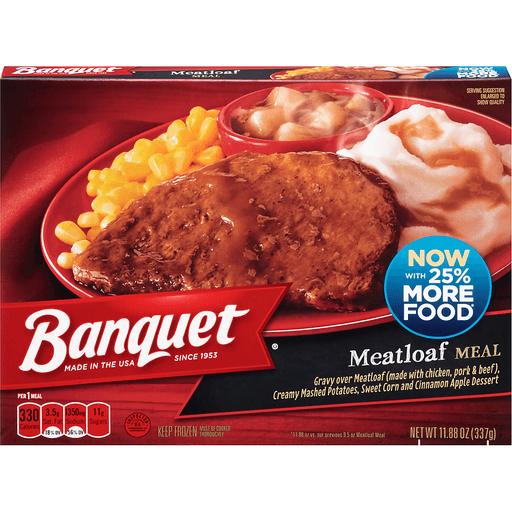 Banquet Meatloaf Meal