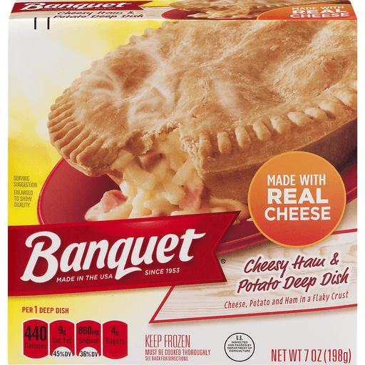 Banquet Deep Dish Cheesy Ham & Potato