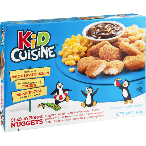 Kid Cuisine Chicken Breast Nuggets, All Star