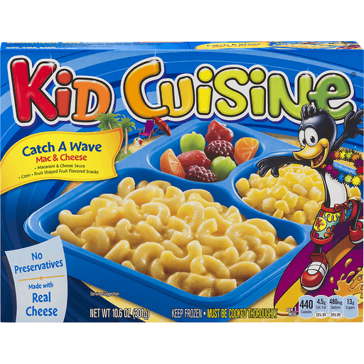 Kid Cuisine Real Meals Mac & Cheese, Catch A Wave