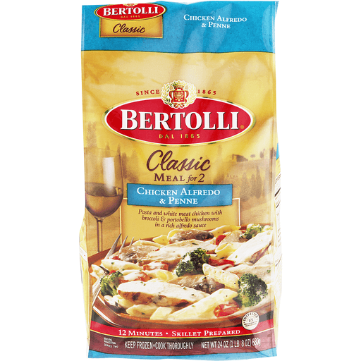 Bertolli Classic Meal for 2 Chicken Alfredo & Penne
