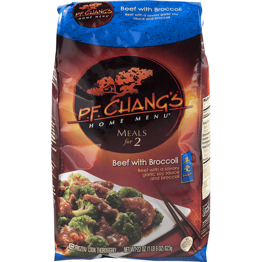 PF Changs Home Menu Meal for Two Beef with Broccoli