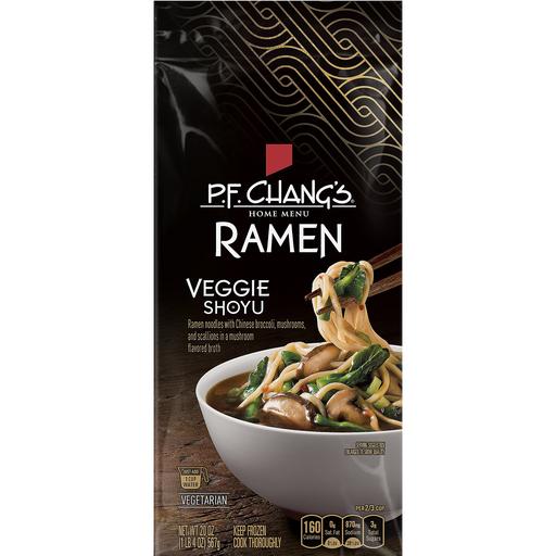 pf changs home menu ramen, veggie shoyu | frozen foods
