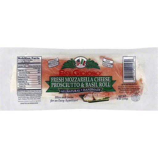 Bel Gioioso C Fresh Mozzarella Prosciutto & Basil Roll