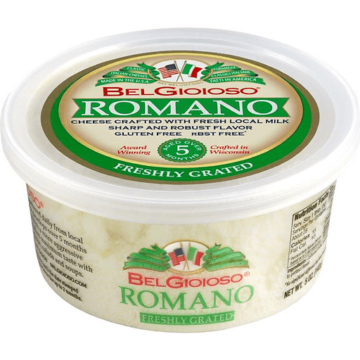 BelGioioso Romano, Freshly Grated