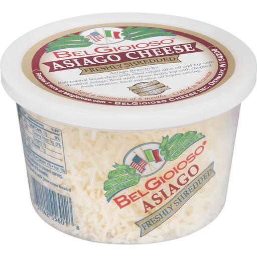 BelGioioso Cheese, Freshly Shredded, Asiago