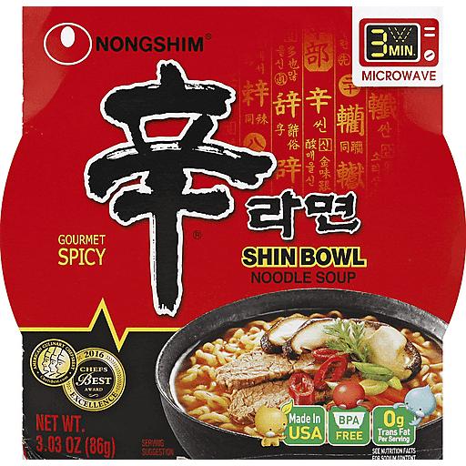Nongshim Noodle Bowl - Shin Ramen