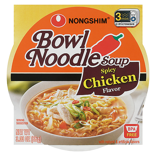 Nongshim Noodle Bowl - Spicy Chicken