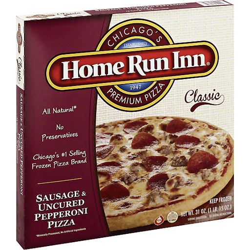 Home Run Inn Classic Pizza Sausage & Uncured Pepperoni