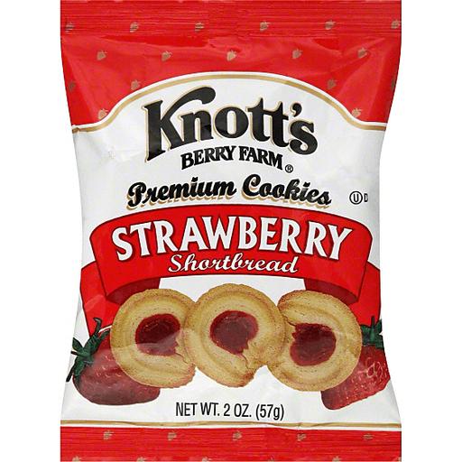 Knott S Berry Farm Strawberry Shortbread Cookies Cookies Foodtown