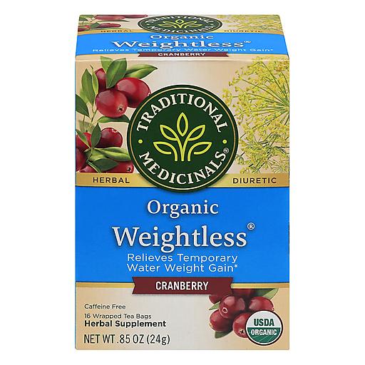 Tradtnl Medicnl Weigh Less Cranberry Tea