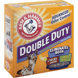 Arm Hammer Double Duty Advanced Odor Control Clumping Litter