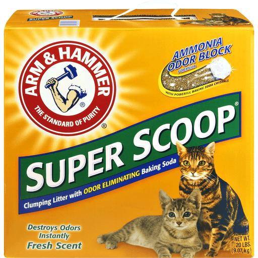 Arm & Hammer Clumping Litter, Super Scoop