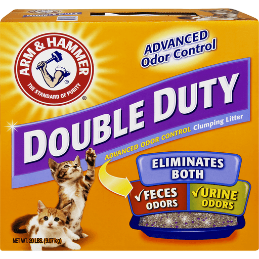 Arm & Hammer Double Duty Clumping Litter, Advanced Odor Control