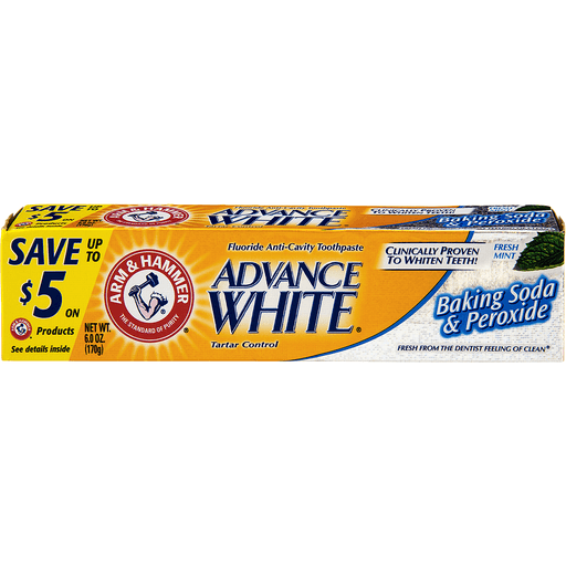 Arm & Hammer Advance White Stain Defense Extreme Whitening Baking soda & Peroxide
