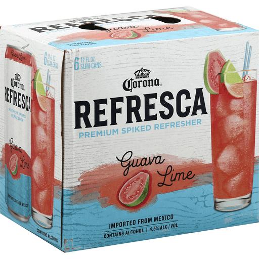 corona refresca vs seltzer