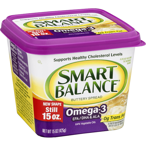 Smart Balance Buttery Spread, Omega-3