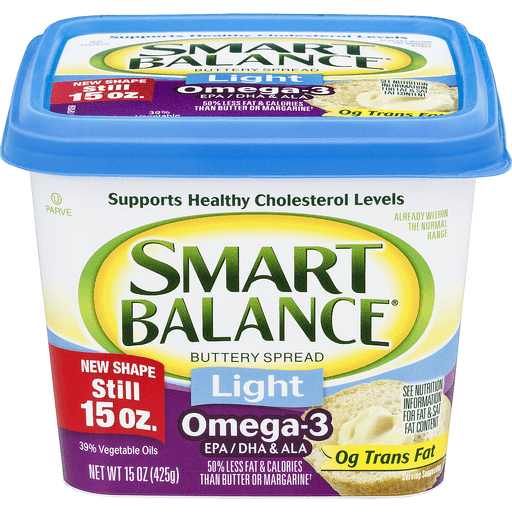 Smart Balance Omega Buttery Spread, Light