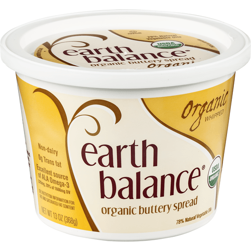 Earth Balance Buttery Spread, Whipped, Organic